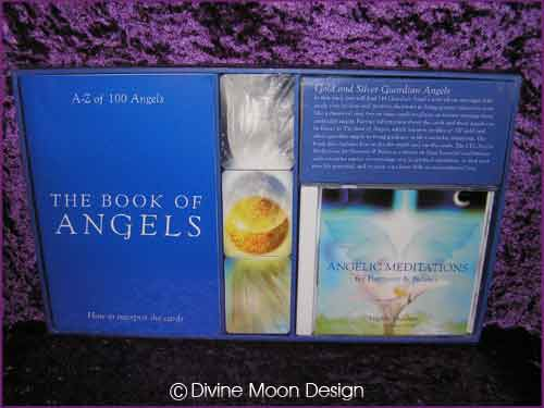 Gold & Silver Guardian Angel PACK - Cards, Book & CD - Lmt Ed