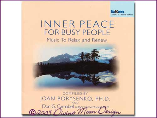 Inner Peace for Busy People CD - Joan Borysenko & Don Campbell