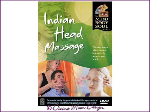 MBS: Indian Head Massage - DVD - Jill Russel