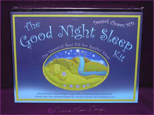 Good Night Sleep Kit (Complete Kit) - Deepak Chopra, M.D.
